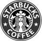 Starbucks logo greyscale