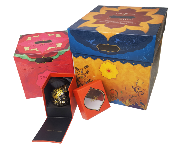 Valentines Packaging rigid boxes