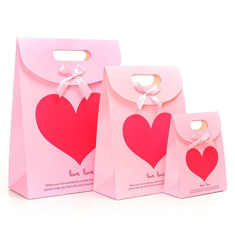 Valentines Packaging bags
