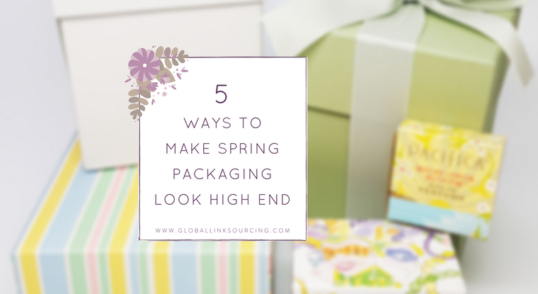 5 ways to make spring packaging look high end