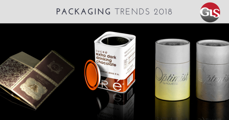 Top 5 Packaging Trends to Look out for in 2018
