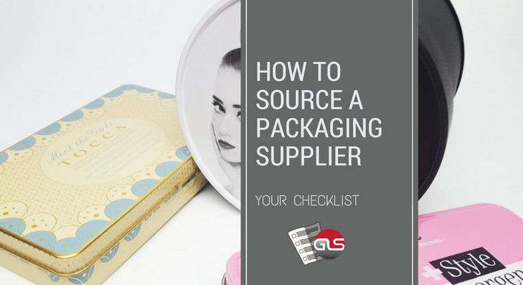 How to Source a Packaging Supplier – Your Checklist