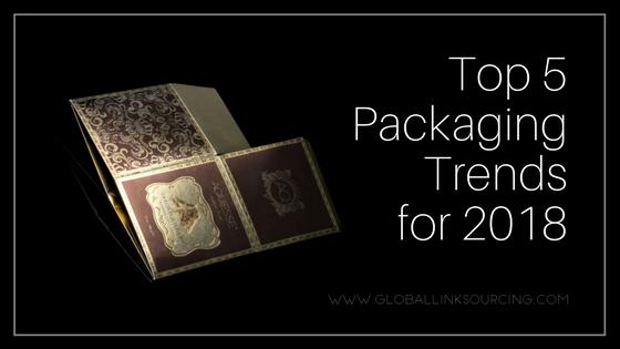 top 5 packaging trends